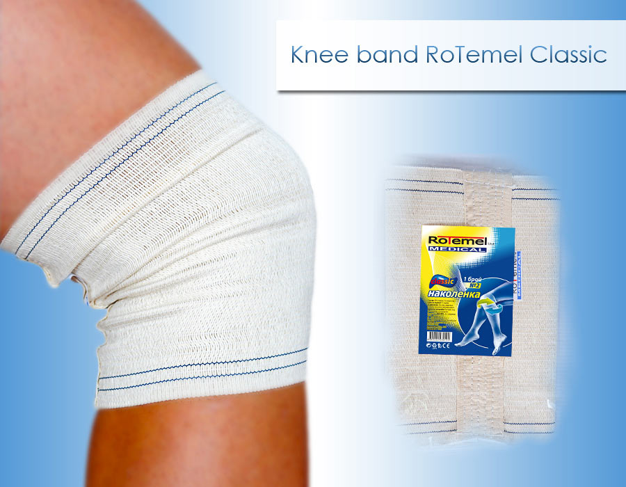 Knee Band Classic Elastic Medical Products Rotemel